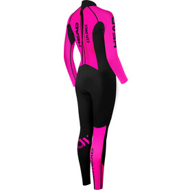 Head OW Explrr FS 3.2.2 Traje Triatlón Mujer, negro/rosa